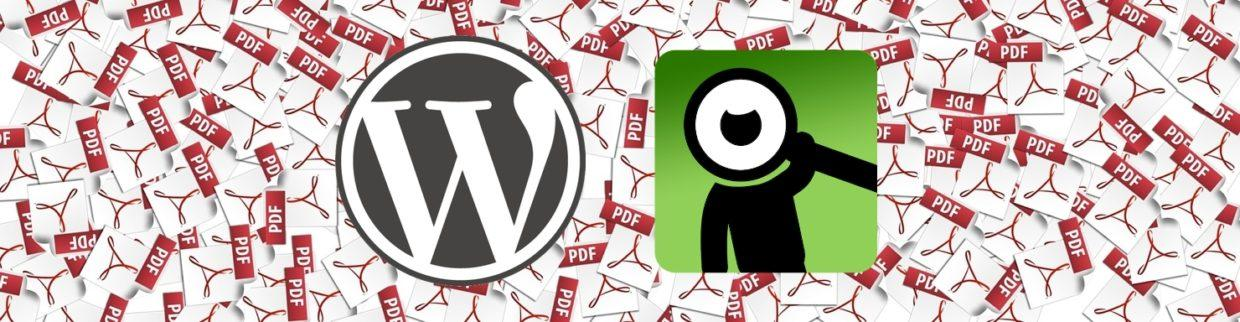 WordPress PDF support